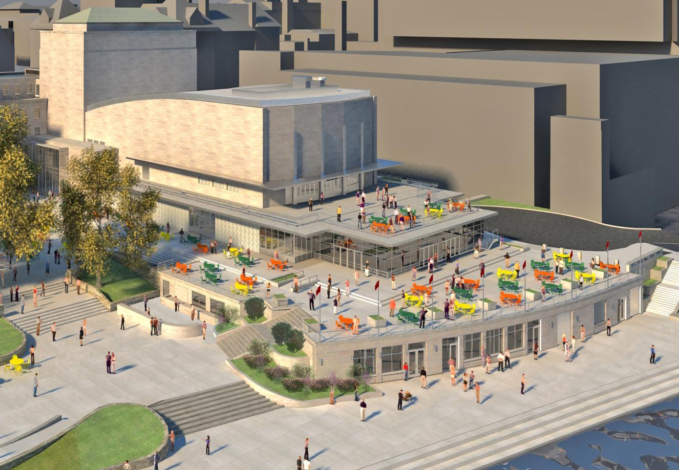 Project overview memorial union reinvestment for Terrace uw madison