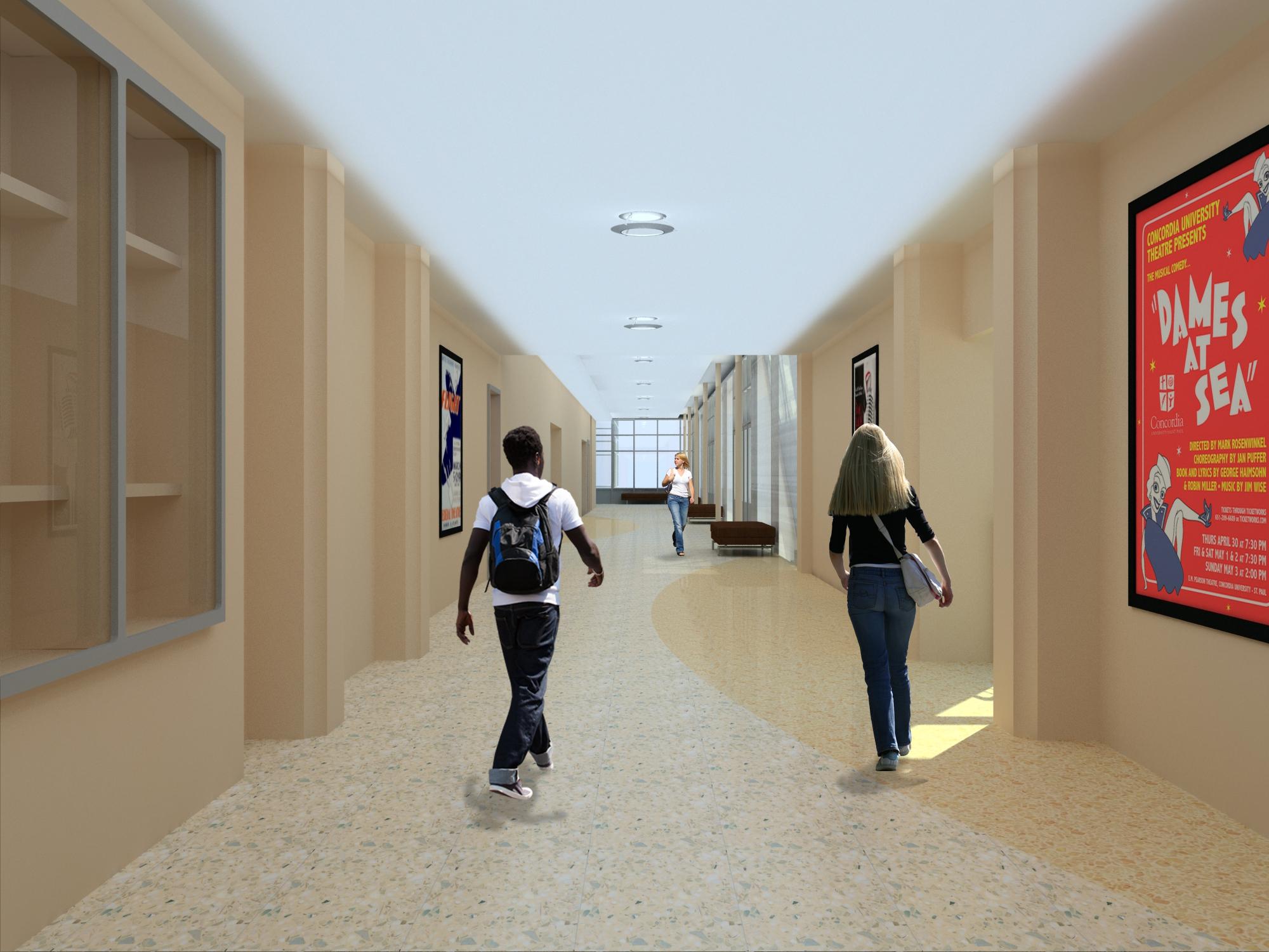 Phase I Design RenderingsMemorial Union Reinvestment