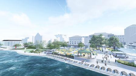 Phase ii design renderings memorial union reinvestment for Mendota terrace