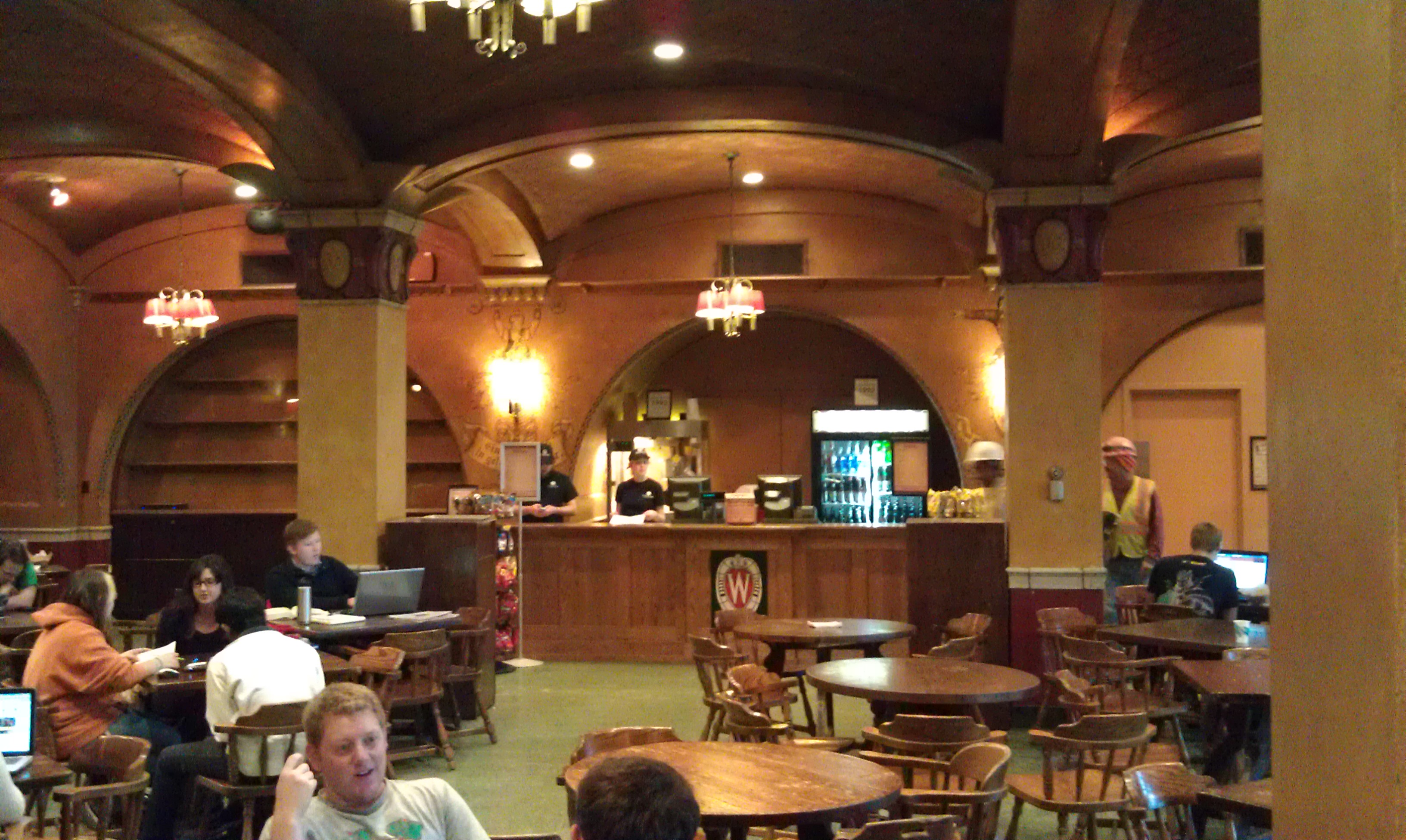 Temporary Rathskeller bar now open
