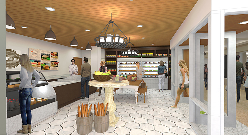 Fresh Grab And Go Shop Memorial Union Reinvestment