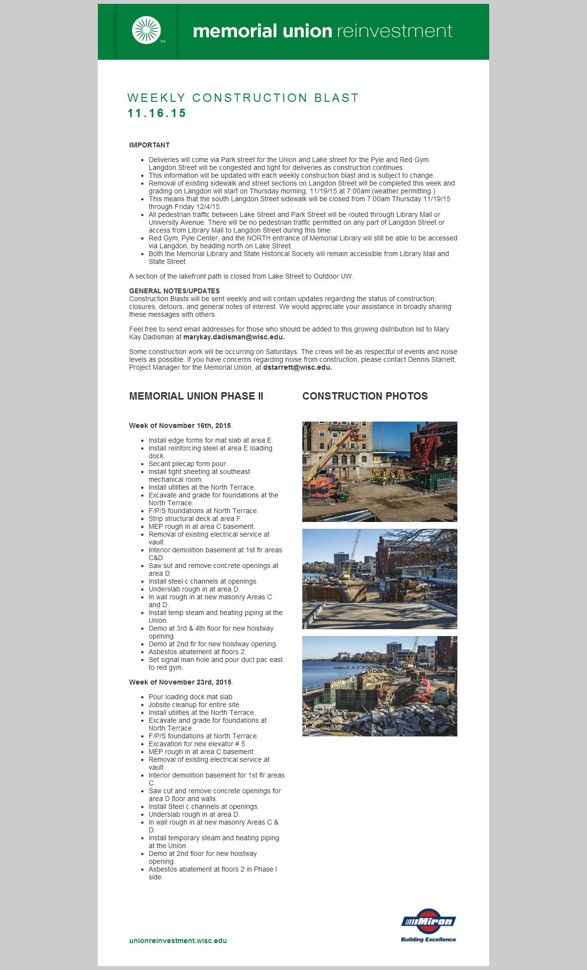 Construction Blast 11-16-15