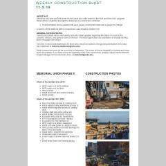 Construction Blast 11/2/2015