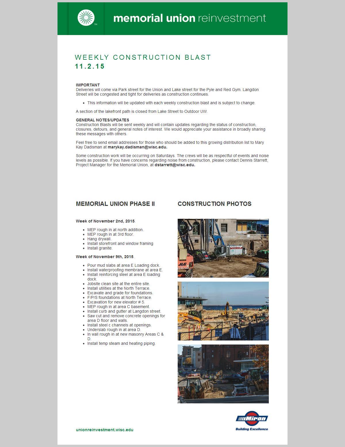 Construction Blast 11/4/2015
